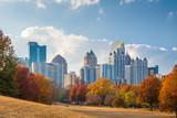 Atlanta, Georgia, USA midtown skyline from Piedmont Park in autumn © SeanPavonePhoto