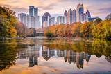 Atlanta, Georgia, USA Piedmont Park skyline in autumn © SeanPavonePhoto