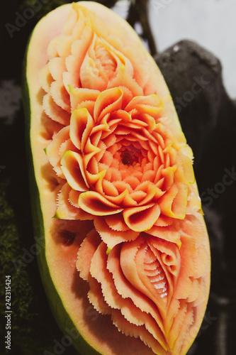 Fruit and vegetable carvings display thai fruit carving buy