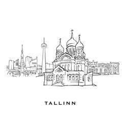 Tallinn Estonia famous architecture