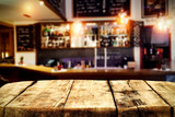 Table background and bar interior