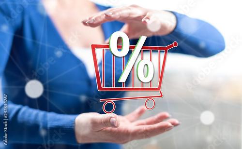 Concept of discount © thodonal