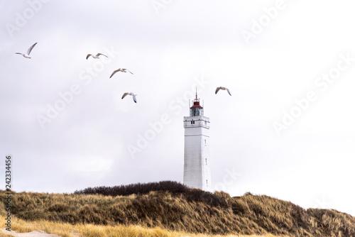 Leuchturm von Blavand, Dänemark