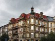 Grunwald Square in Szczecin. Poland