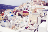 details of the architecture of the village of Oia Santorini - 242339891