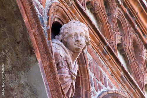 Foto Murales Milano, Università Statale, fregi della facciata