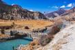 Marsyandi River in Nepalese Himalayas