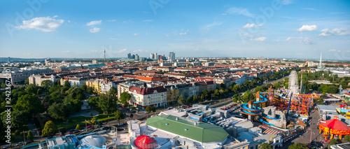 obraz lub plakat City view from Vienna, Austria