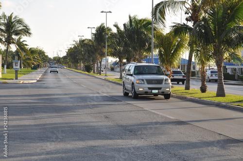 obraz PCV car on road