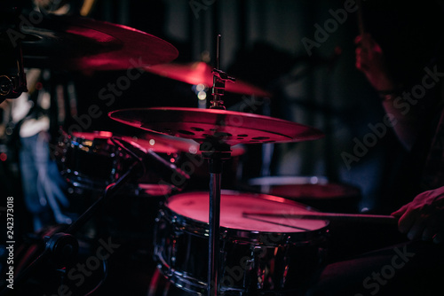 drummer at a concert - 242373018
