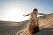 Quadro Having fun on sand dunes