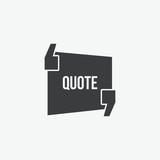Quote Vector Icon