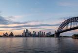 sunrise on sydney harbour