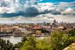 Leinwanddruck Bild - Blick auf Havanna Centro Kuba