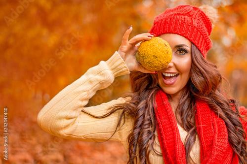 mata magnetyczna Enjoying In Autumn