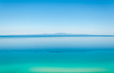 Colourful view of the Sithonia Peninsula in Halkidiki, Greece on a summers day - 242458889