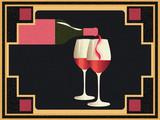 Grunge retro wine banner - 242467613