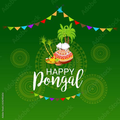 Happy Pongal. - 242492656