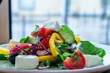 Greek salad with feta - 242507207