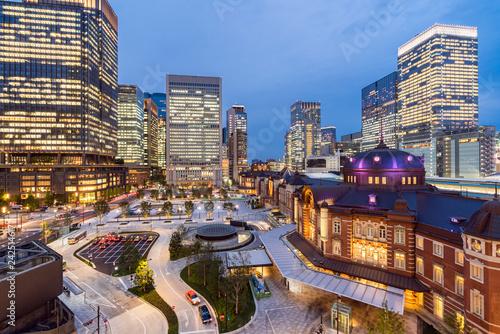 obraz PCV Tokyo Station