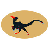 Fototapeta Dinusie - Velociraptor © Kayla