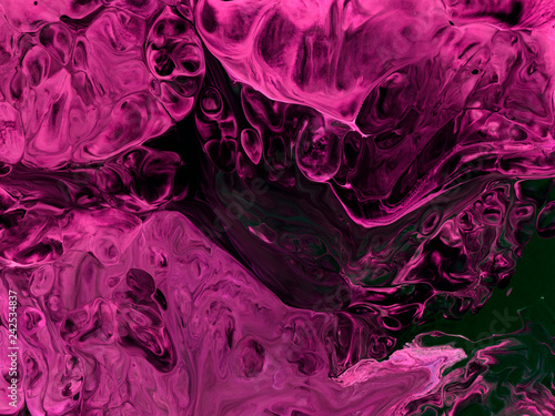 Creative pink abstract hand painted background