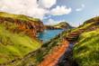 Leinwanddruck Bild - Wanderweg auf Madeira