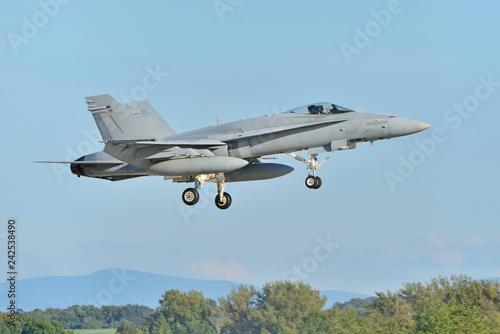 Fighter aircraft.