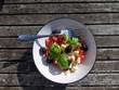 Tomaten Schafskäse Salat - 242546438