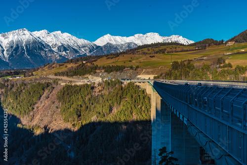 Foto Murales Europabrücke Brenner Autobahn
