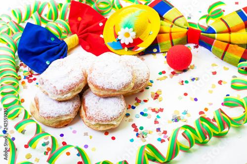 Leinwanddruck Bild Pfannkuchen Hintergrund Freisteller