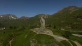 symbol of the simplon pass,montains,sommer,valais,switzerland,eagle, - 242587872