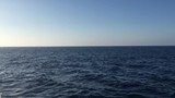 A fine day in the South Pacific ocean with a clear view of the horizon. - 242588263