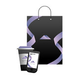 corporate merchandise elements cartoon - 242599812