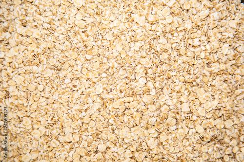 A pile of oatmeal