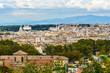 Quadro Arial view of Rome city from Janiculum hill, Terrazza del Gianicolo. Rome. Italy