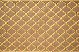 Ottoman  art with geometric patterns on wood