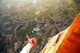 like from hot air ballon taken , air shoot