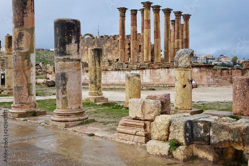 Jordan. Theater of jerash