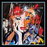 portrait of a woman  face - 242654852