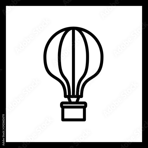 Vector Air Balloon Icon