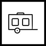Vector Wagon Icon - 242663035