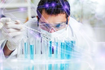 Scientist man working at the laboratory © BillionPhotos.com