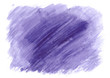 Violet watercolor illustration for business cards. Hand drawn design element.