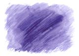Violet watercolor illustration for business cards. Hand drawn design element. - 242675037