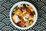 japanese food Soba tofu and vegetable Bowl - 242685278