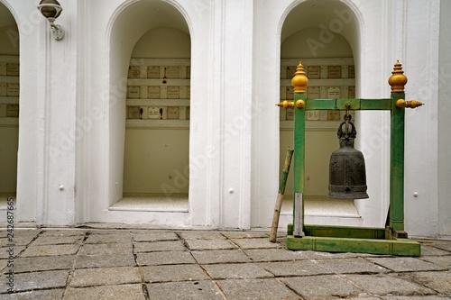 Wat Prayurawongsawat as a landmark in Bankok Thailand