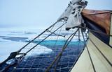 Svalbard; permanent ice on the North Pole - 242693263