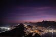 Quadro Night view of Rio de Janeiro, the wonderful city