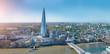 Leinwanddruck Bild - modern office buildings skyscraper in London city skyline